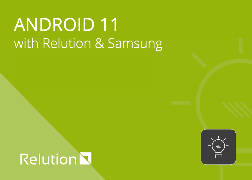 Android 11 with Relution & Samsung