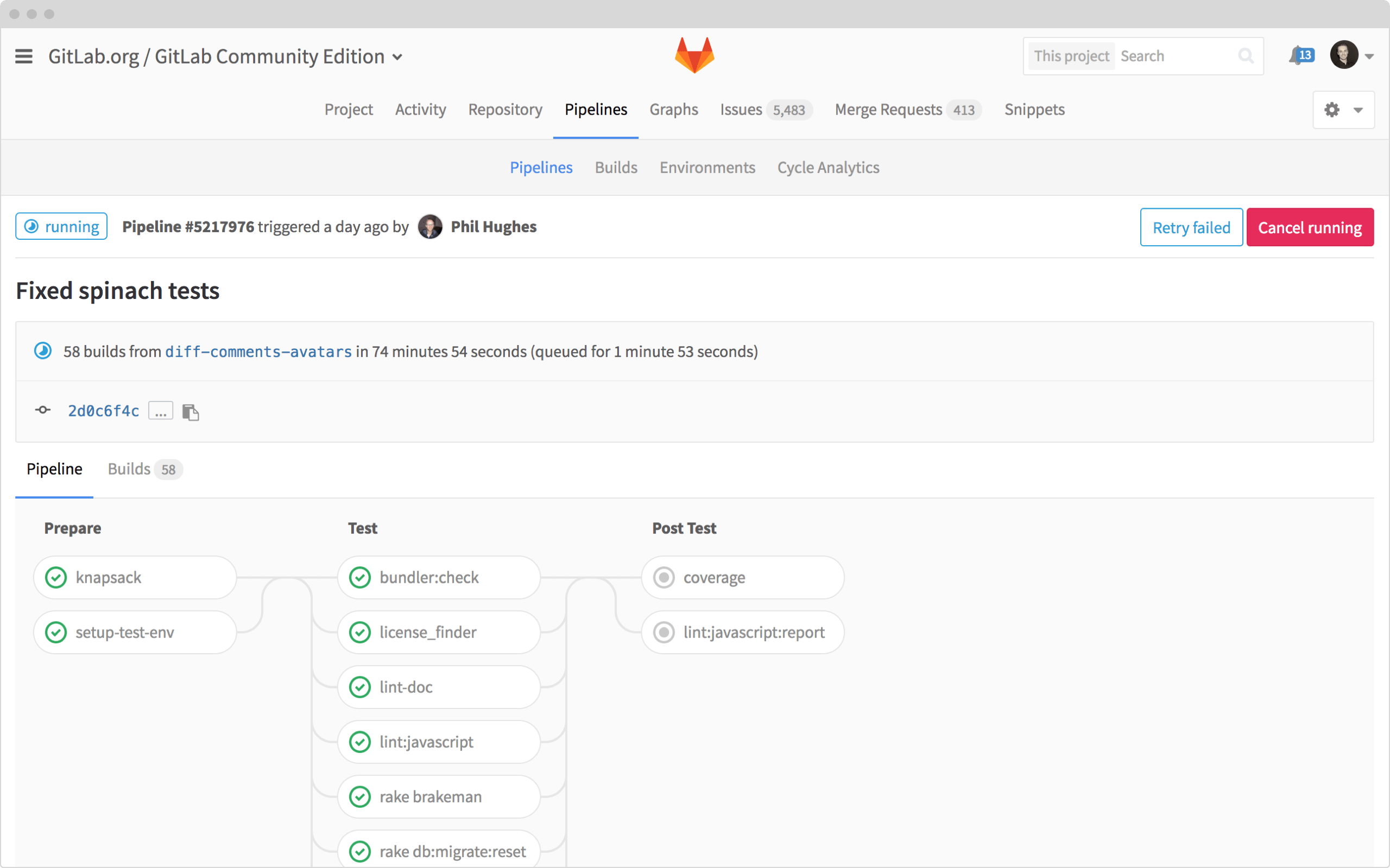 Insight Automating gitlab 2
