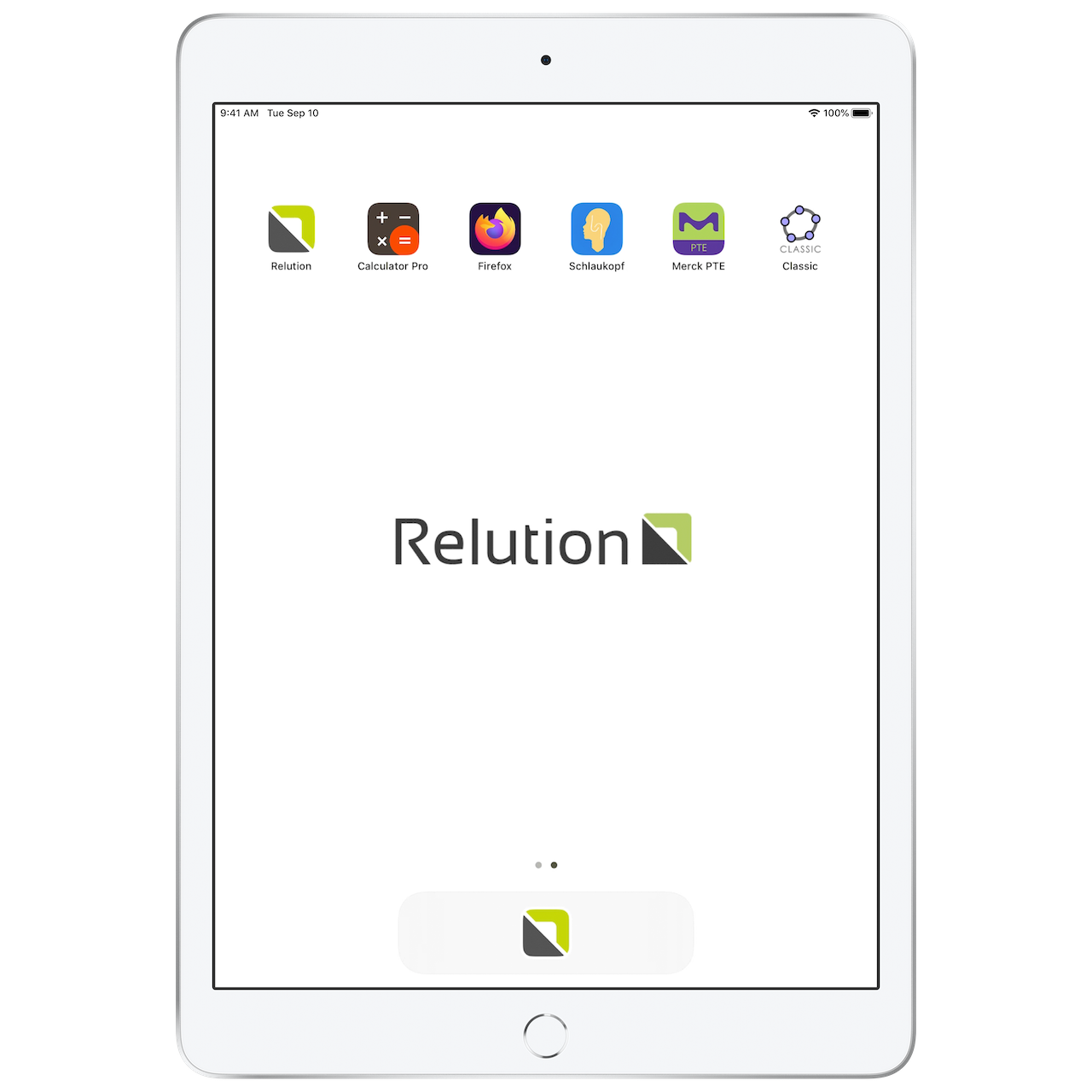 Relution shared ipad mac 2