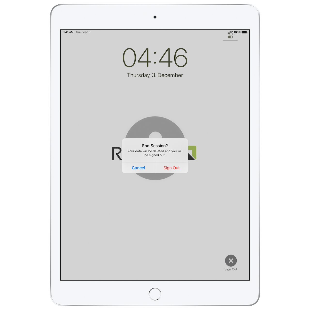 Relution shared iPad 5